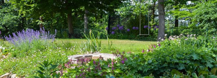 Utulna soukroma zahrada